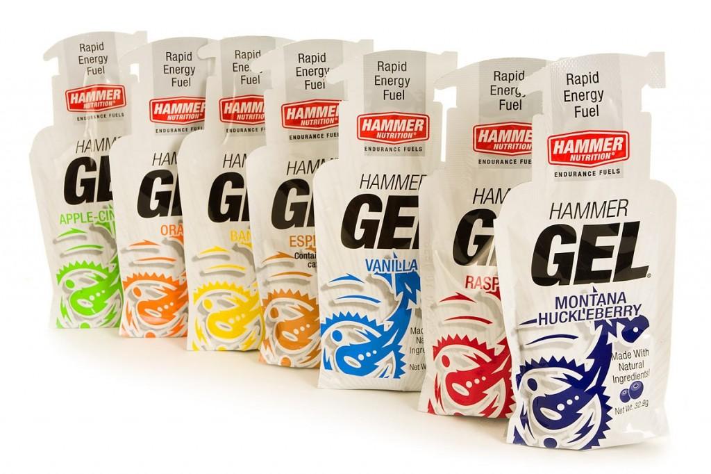 row of gels
